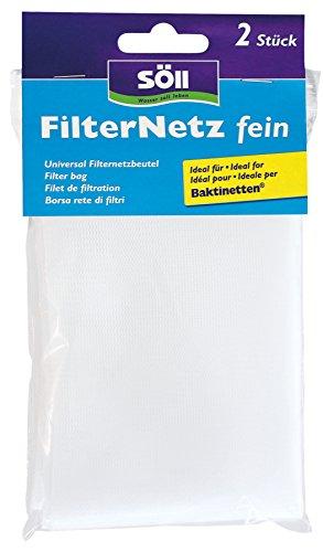 Söll 20659 Filternetz, fein, 2 Stück, 20 x 28 cm