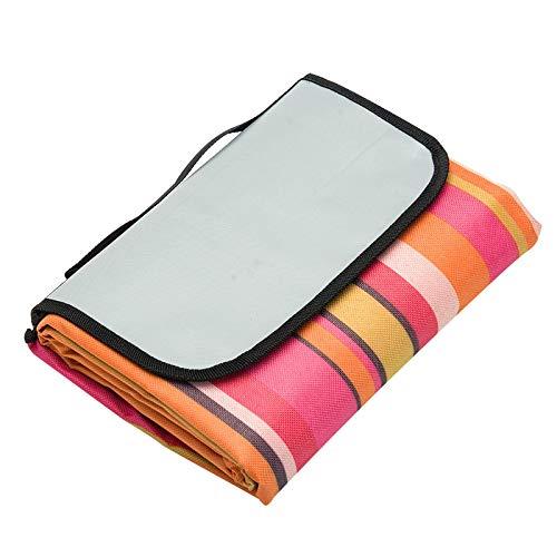 Qiuge Camping-Matte, 600D wasserdichte Oxford-faltbares Tuch im Freien Strand Picknick-Decke, Größe: 150 * 150cm, zufällige Farblieferung QiuGe