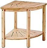 Redmon since 1883 Bamboo Spa Style Corner Seat Shower Bench