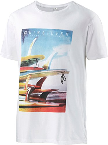 Quiksilver T-shirt pour homme blanc XS