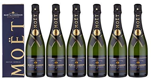 6 Flaschen -Moet & Chandon Brut Imperial NV - Champagner