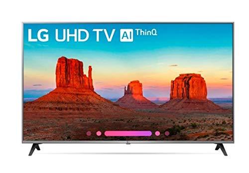 LG Television 55' Class 4K Ultra HD Smart LED HDR TV 55UK7700PUD (Renewed)