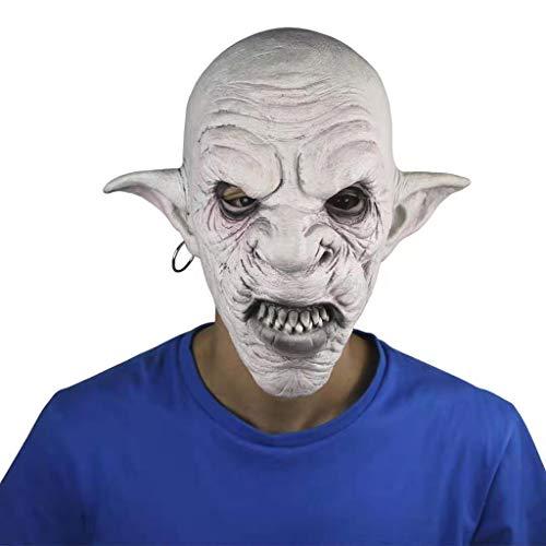 Estrella-L Creepy Scary Bloody Monster Halloween Cosplay Disfraz Mscara de Silicona para Hombre Super Suave Mscara de Cabeza Completa para Adultos Decoracin de Fiesta Props Supply
