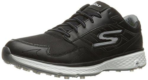 Skechers Golf Men's Go Golf Fairway Golf Shoe, Black/White, 7.5 M US