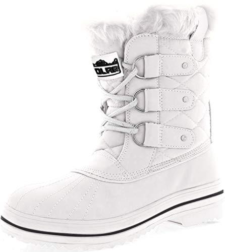 POLAR Womens Snow Boot Nylon Short …