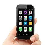 ミニスマートフォン2GB 16GB / 3GB 32GB Android 6.0 1580mAh 4G Wifi GPS ガラス本体、バックアップデュアルカードSOYES XS電話、フェイスロック解除 (2+16GB)