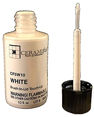 Ceramifix .5 oz White Touch up Paint for Tile, Appliances and More