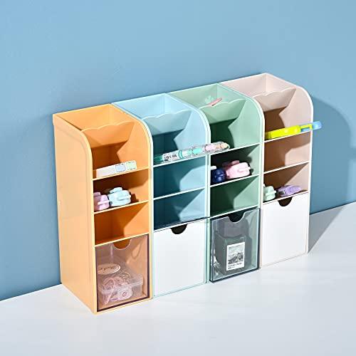 YUDOXN Portalápices,organizador de escritorio para lápices, organizador de bolígrafos,cajitas de almacenamiento para oficina, hogar. (4 pieces) 🔥
