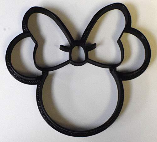 Minnie Maus Kopf Cartoon Charakter Ausstechform Fondant Backwerkzeug USA PR530S