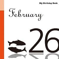 2月26日 My Birthday Book