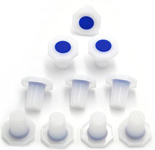Tapón de polipropileno, tamaño 19/26, 10 unidades