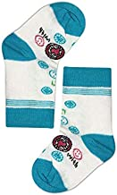 Mariposa Girl's Printed Socks