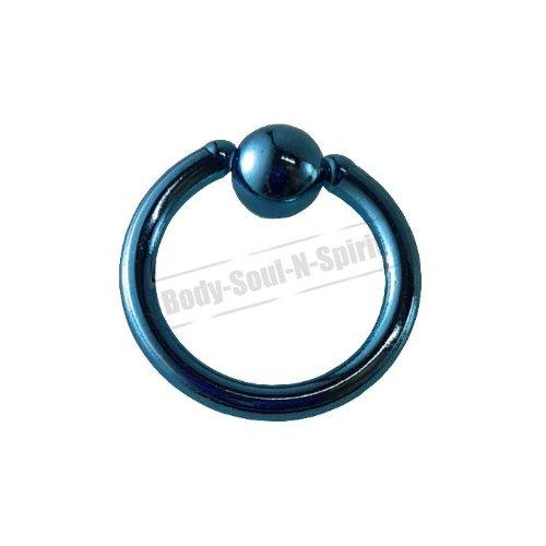 Cercle CIEL 6mm BSR Perçage corps Boule Nez Lèvre Cartilage Oreille 316L acier