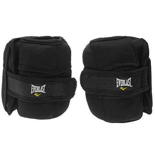 Everlast Unisex Ankle and Wrist Weights Body Muscles Black One Size