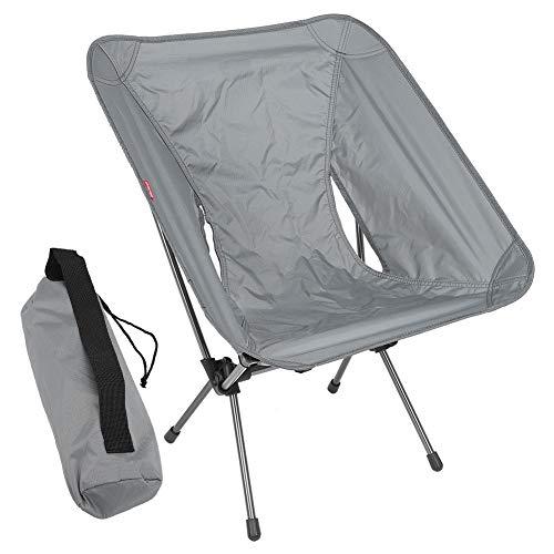 Atyhao Rucksack Camping Stuhl Klappstuhl Outdoor Tragbar Klappbarer Angelstuhl Klappsitz für Camping Barbecue Reisen Picknick Reisen Wandern