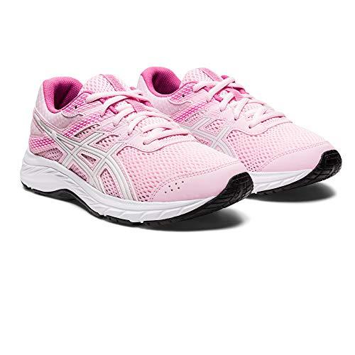 Asics Contend 6 GS, Running Shoe, Cotton Candy/Blanco, 39 EU