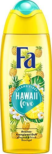 FA Duschgel Island Vibes Hawaii Love mit Ananas- Frangipani-Duft, 6er Pack (6 x 250 ml)