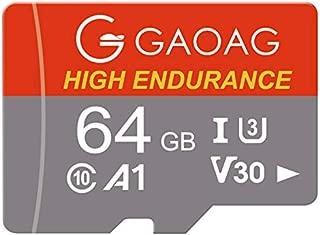GAOAG SD メモリーカード マイクロ SDカード 64GB 超高速Class10 読取り最大100MB/s Androidスマートフォン デジカメ 超高速転送