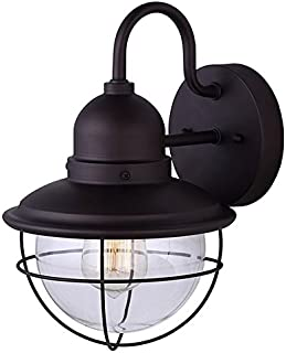 Canarm IOL254ORB Lohan Cage Style Outdoor Light, Oil Rubbed Bronze