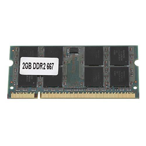 Computadora portátil con Memoria DDR2, RAM DDR4 2G 667MHZ para computadora portátil PC2-5300, PC2-5300 de 200 Pines para Placa Base Intel/AMD