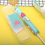 RVAXQ Mini Plancha de Pelo pequeña cerámica Curling Curling Hierro Creativo Fruta portátil niñas eléctrica Pelo enderezando Herramientas de Hierro (Color : 5, Size : 1)