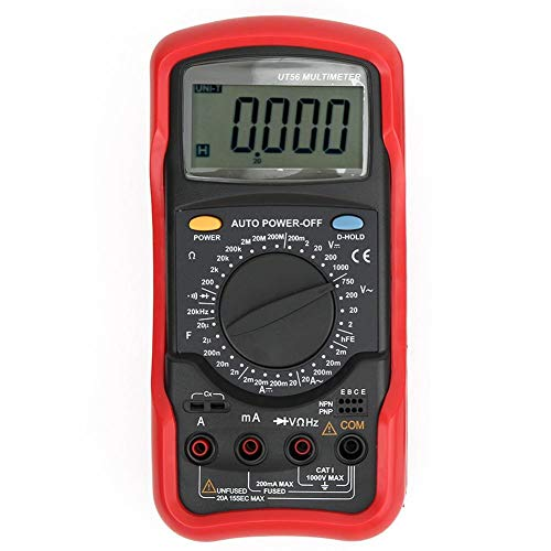 DC AC Portable Capacitance Professioneller Multimeter-Frequenztester für Office for Home for Factory