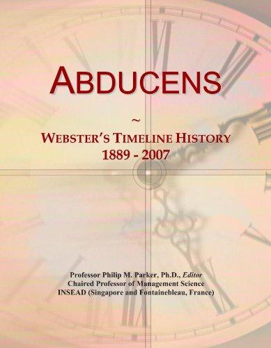 Abducens: Webster's Timeline History, 1889 - 2007