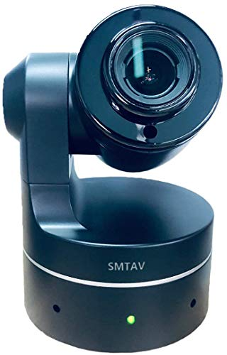 SMTAV Tiny 3X Optics USB PTZ Webcam, uscita video USB2.0, UVC supportato, Full HD 1080p videoconferenza, registrazione e streaming