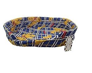 Ducomi® FUFY-Lit pour chiens et chats en Oxford-Souple Niche pour animaux domestiques-Facile à laver
