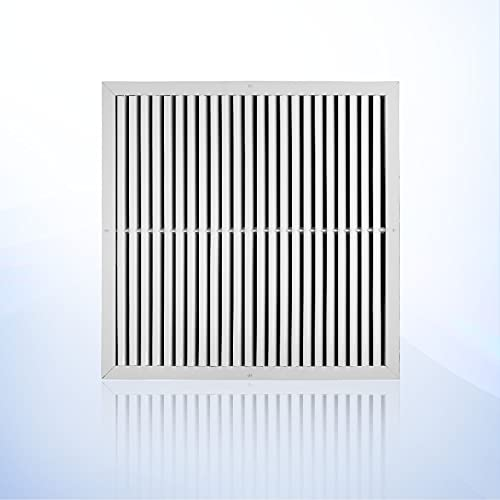 24 x 24 Aluminum ac Return air Vent, Ceiling or Wall Vent Cover Grille. HVAC registers, grilles & Vents, The Outer Size is 25,625