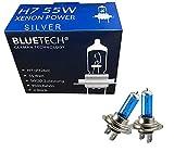 BLUETECH® 2x Silver Edition H7 55W 9500K Xenon...