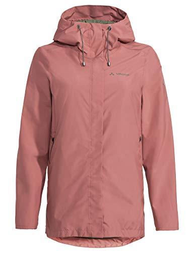 VAUDE Damen Jacke Women's Mineo 2L Jacket II, Dusty Rose, 36, 42354