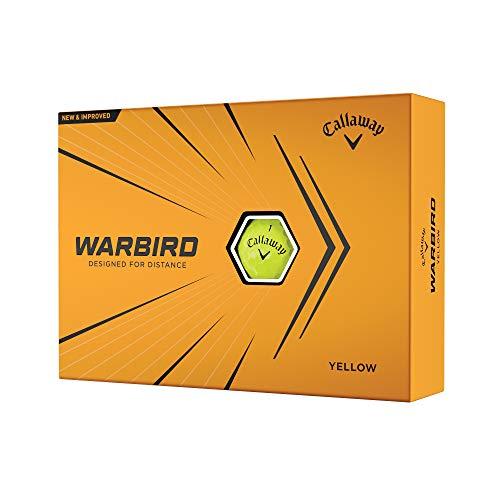 2021 Callaway Warbird Golf Balls, Yellow