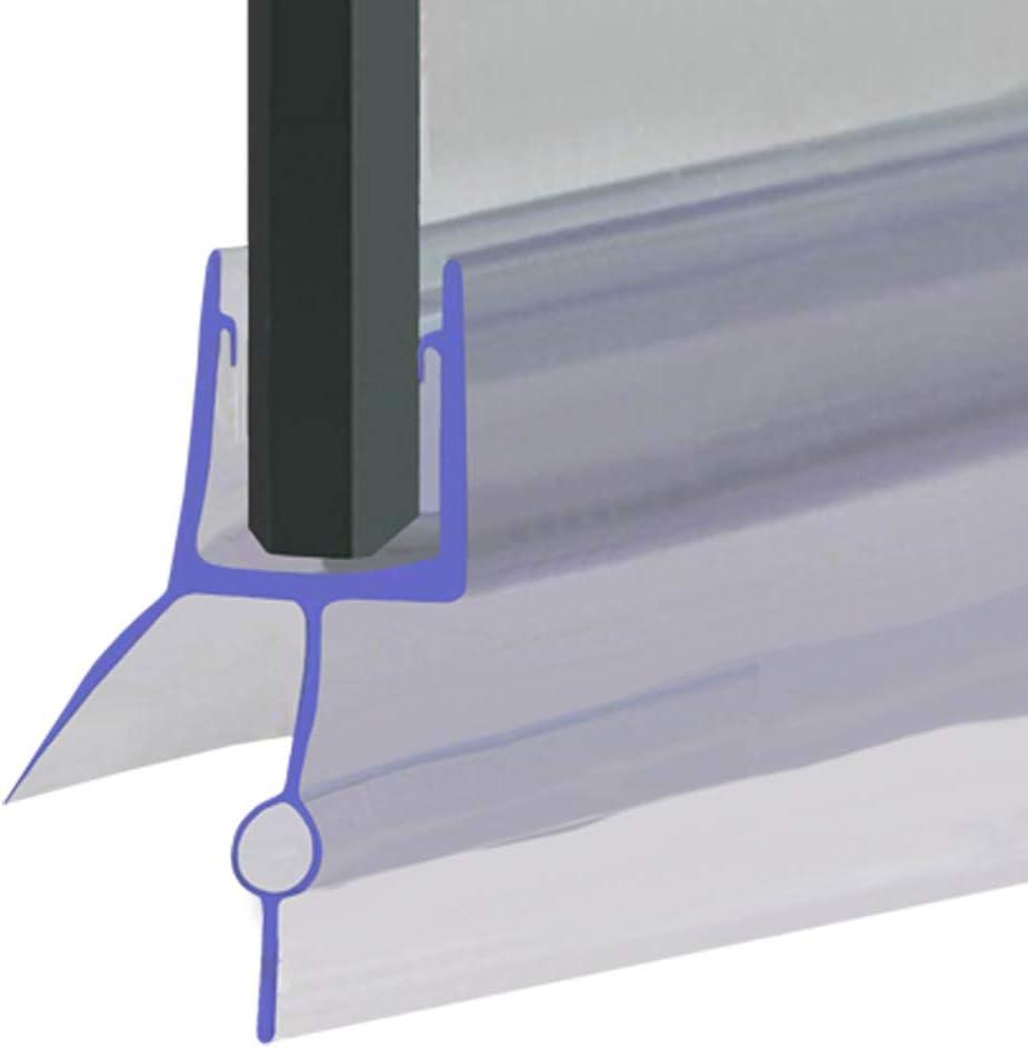 5 ou 6mm Verre Joint de douche Scelle les trous jusqu/à 16mm d/'/étanch/éit/é SEAL006 | 4