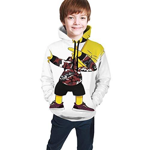 Bart Simpson 3D Printed Hooded Hoodie Hoodie Sweater for Teen Boys and Girls