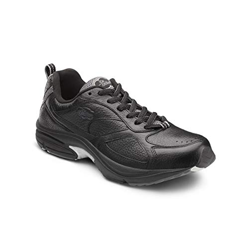 Dr. Comfort Winner Plus Men's Therapeutic Diabetic Extra Depth Shoe: Black 11 Medium (B/D)