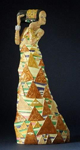 Klimt–Estatua–la esperanza 1905–1909