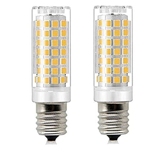e17 led Microondas Horno Electrodoméstico Whirlpoo Bulb,70w halógeno bombilla equivalente, blanco cálido 3000k dimmable...