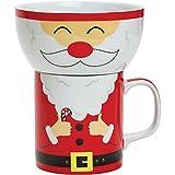 Deliziosamente illustrato tazza in porcellana da 200 ml e ciotola da 250 ml in 8 fantastici personaggi Posiziona la ciotola sulla tazza per creare il personaggio. Viene fornito in una scatola regalo illustrata e colorata abbinata.