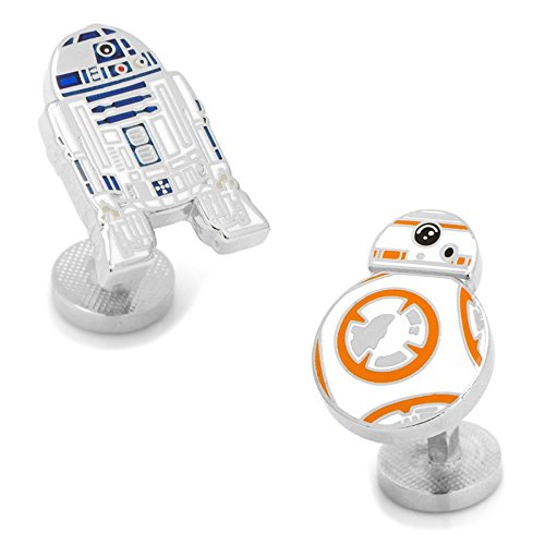 Star Wars スターウォーズ R2DS & BB-8 カフスボタン sw-r2bb8-sl