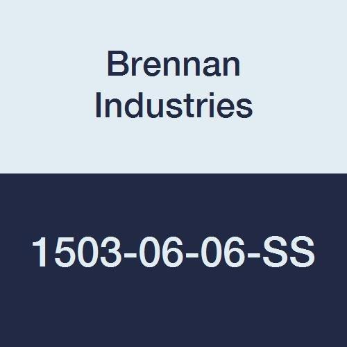 Brennan Industries Long Louisville-Jefferson County Mall Beach Mall 1503-06-06-SS Stainless Degree Steel 45 Elbow