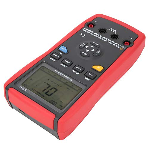 Digitalmultimeter, geringe Verlustleistung Hochwertiger digitaler Frequenztester, digitaler Induktivitätstester für die Inspektion von Produktionslinienkomponenten