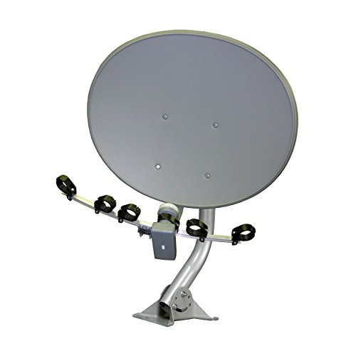 "Homevision Technology Satellite Dish Digiwave 30"" Elliptical Satellite Dish, Gray (DWD70TE)"