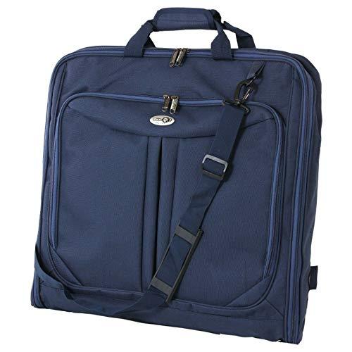Cabin 5593 - Funda para ropa de viaje con bolsillo para ordenador de 15 pulgadas, correa de hombro, bolso maleta con asas, funda de 110 cm, funda para camisas, ropa, carrier ropa, maleta, vestido Bus