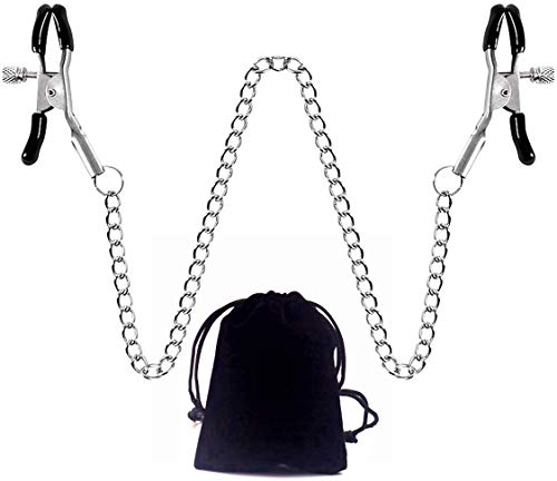 Body Bell Clamps Entertainment Chain Clip Combination Adjustable Clip with Black Storage Bag