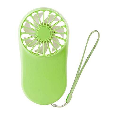 ZJYSM Mini Ventilador USB Handheld Minúscula Ventilador de Aire portátil Aire Cooler silencioso Fan de enfriamiento silencioso para Oficina Familiar Dormitorio Estudiante al Aire Libre Viajar
