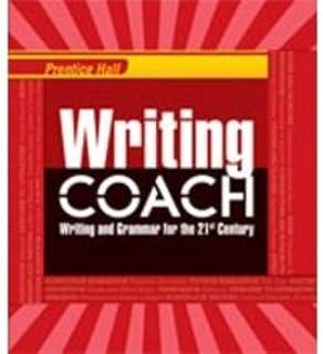 Prentice Hall Writing Coach (Texas edition grade 8 red cover)