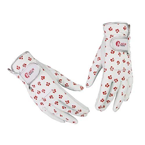 T TOOYFUL 1 Paar Damen Golfhandschuhe rechts und Links - S