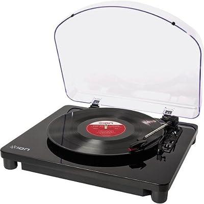 ION Audio, Giradischi e Convertitore Vinili con Software EZ Vinyl Converter per Mac e PC