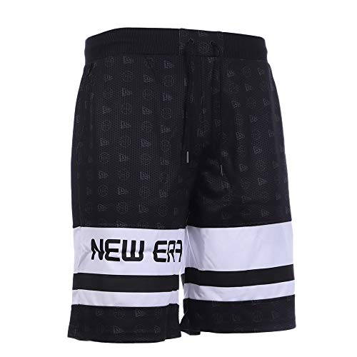 New Era Shorts schwarz Herren Basketball XL Schwarz